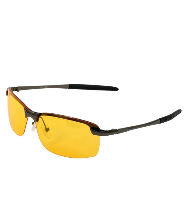 Rimless Frame Sport Vision Sunglasses