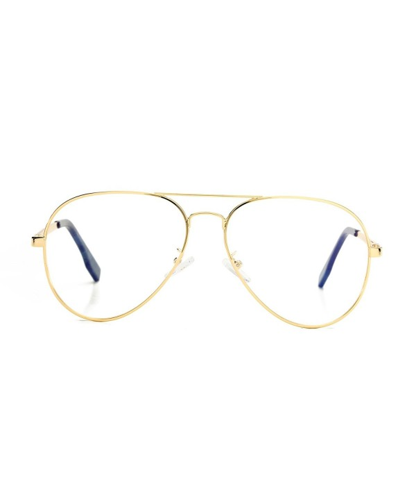 AZORB Aviator Non prescription Eyeglasses Classic