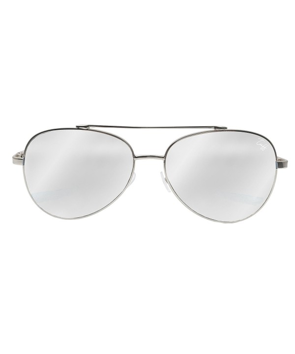 Tuff Sunglasses Mirrored Aviator Oversized
