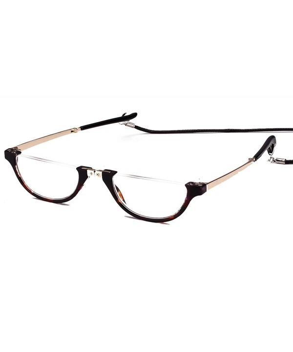 Agstum Foldable Reading Glasses Tortoise