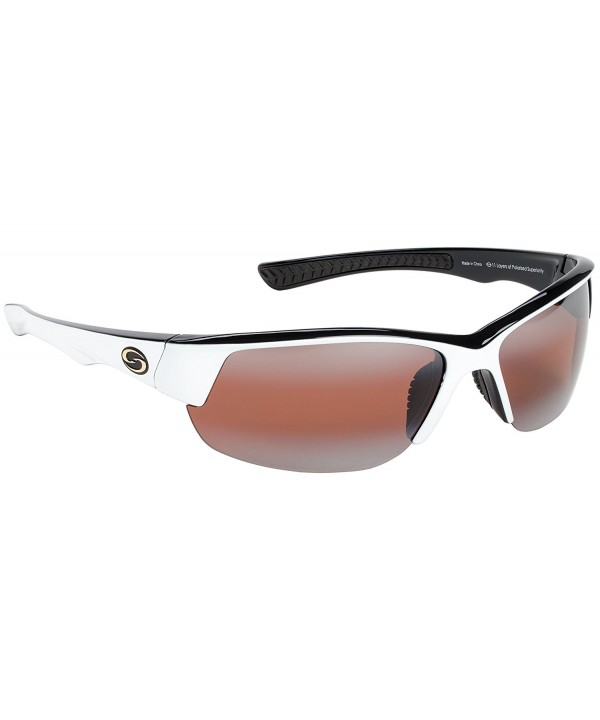 Strike King Polarized Sunglasses White Black
