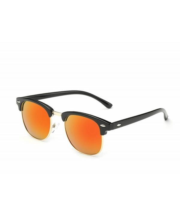 Aloyse Polarized Semi Rimless Sunglasses Driving