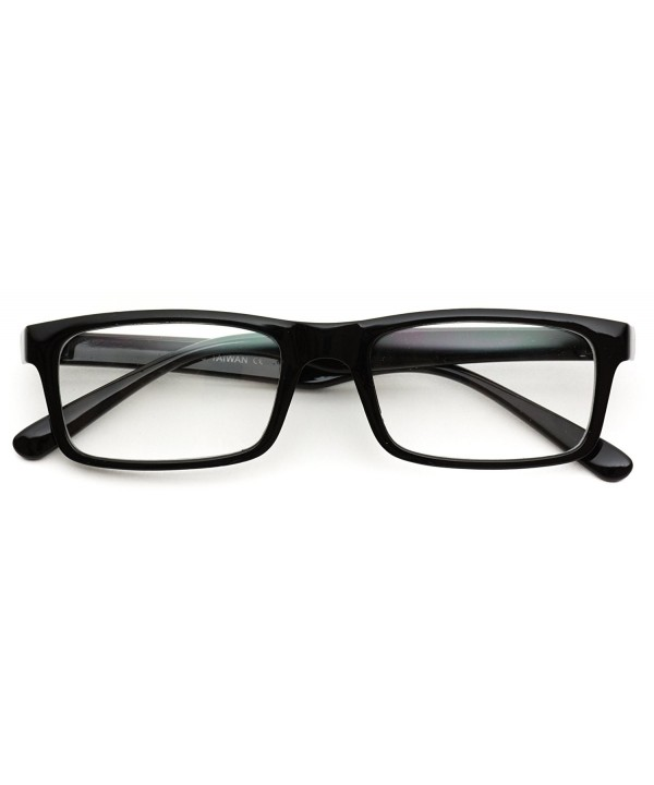 Glossy Small Square Wayfarer Glasses
