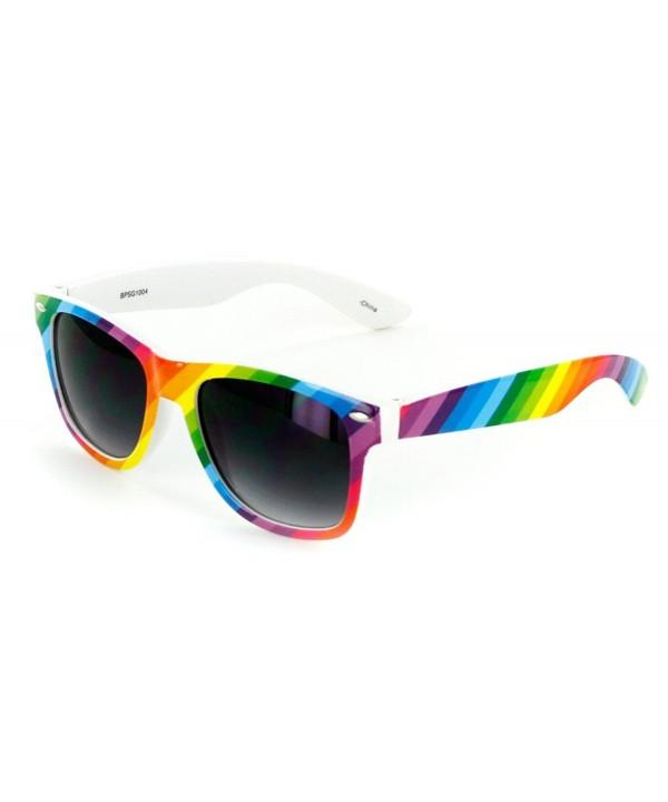 Aloha Eyewear Square Sunglasses Rainbow