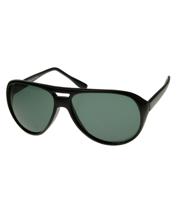 47ca36c2ccd5 X-Large Classic Retro Plastic Teardrop Aviator Sunglasses Men Green ...