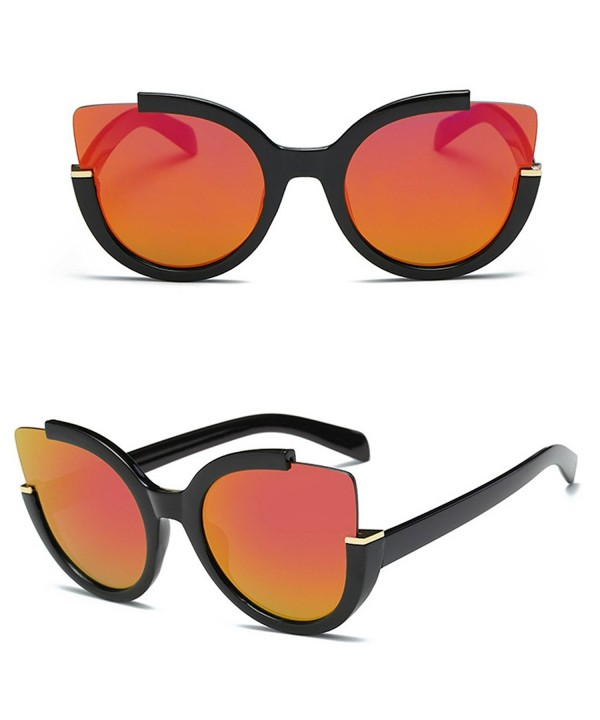 Doober Vintage Mirrored Oversized Sunglasses