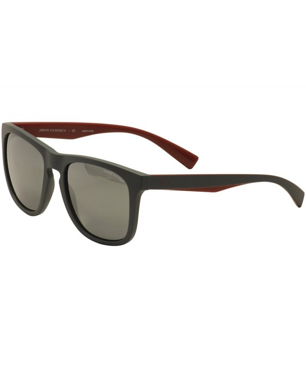 Armani Exchange AX4058S Sunglasses 82006G 55
