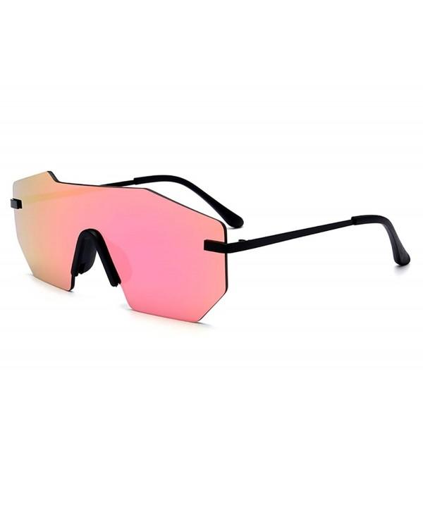 GAMT Mirrored Oversized Sunglasses Sunglass