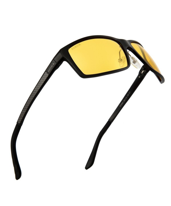 Anti Glare Polarized Yellow Driving Glasses