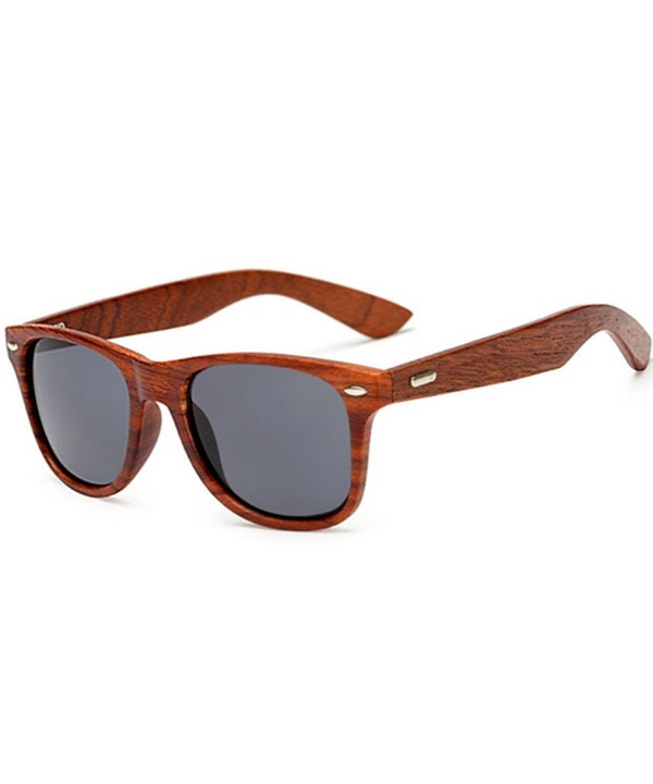 LongKeeper Sunglasses Vintage Wooden Glasses