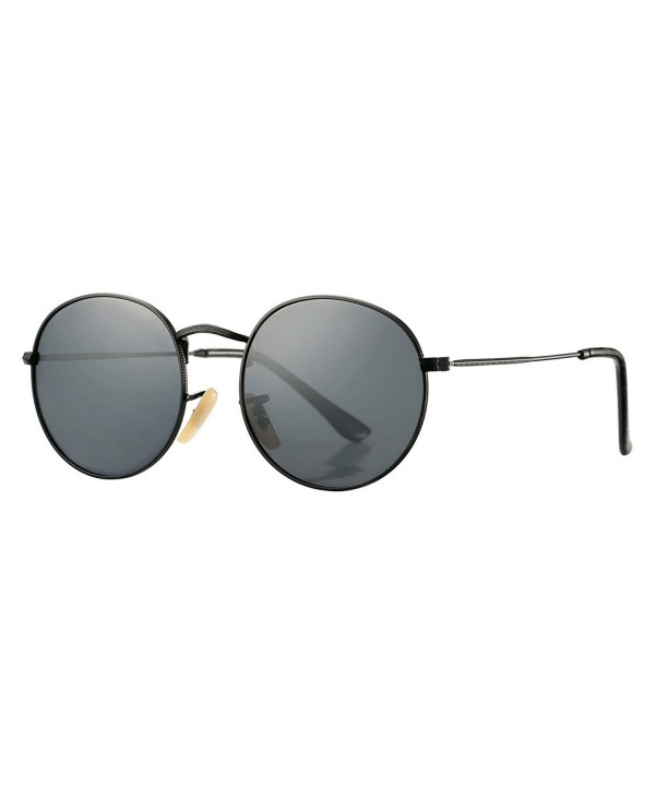 COASION Retro Metal Polarized Sunglasses