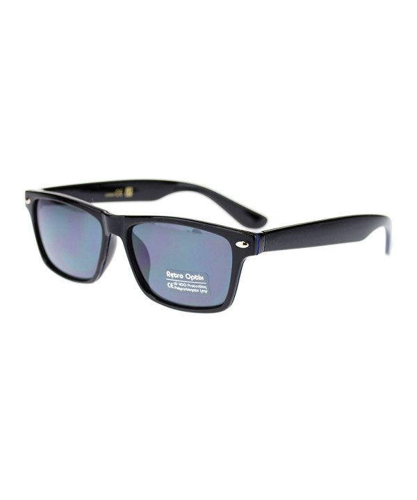 Classic Narrow Rectangular horned Sunglasses