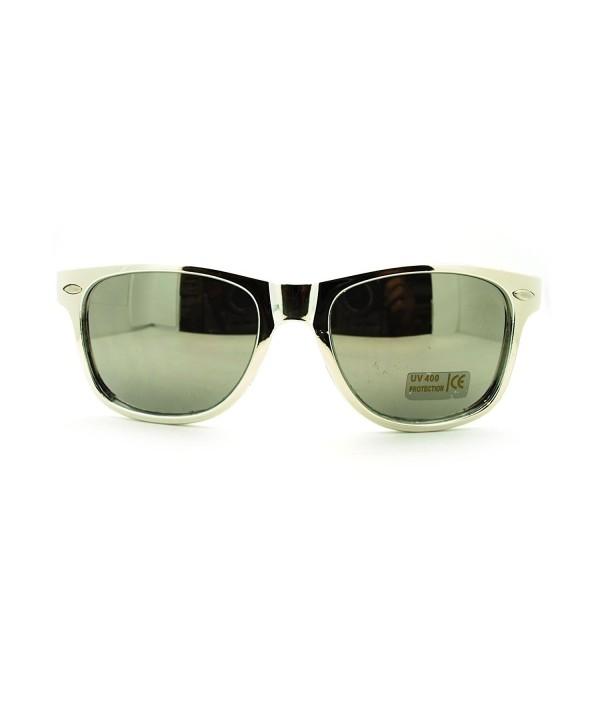 Unisex Metalic Plated horned Sunglasses