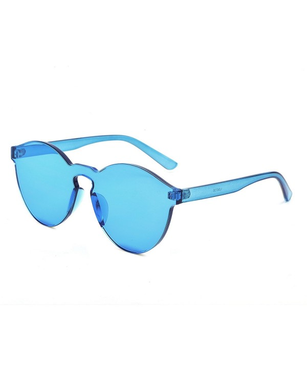 YANQIUYU Sunglasses Transparent Ultra Bold Colorful