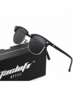 Tacloft Classic Clubmaster Sunglasses Polarized