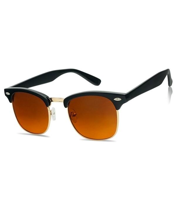 SunglassUP Classic Rimless Blocking Sunglasses