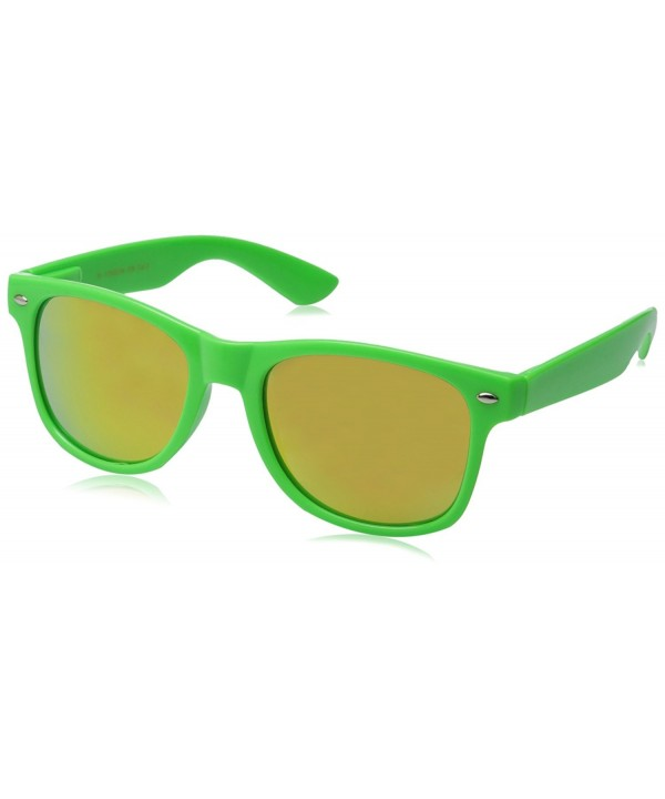 zeroUV Bright Sunglasses Colorful Mirrored