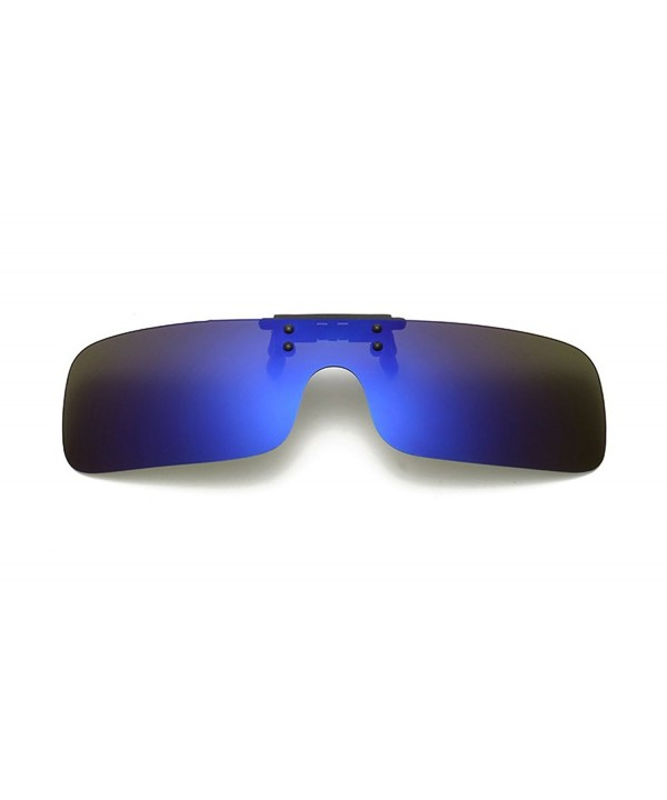 SOOLALA Integrated Rectangular Polarized Sunglasses