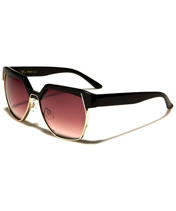 Rectangular Square Design Sunglasses gradient