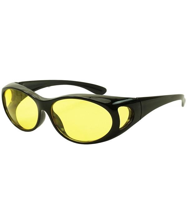 Around Sunglasses Yellow Driving Lenses
