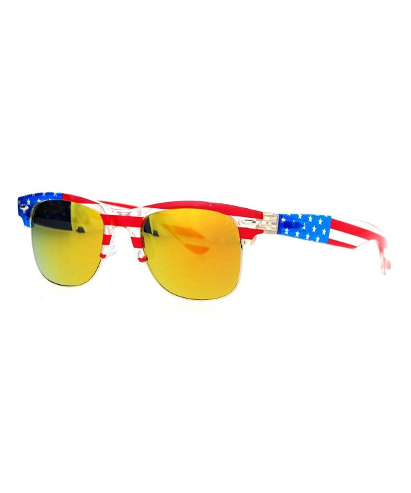 SA106 Mirrored American Patriotic Sunglasses