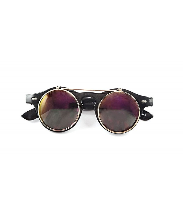 Purple Steampunk Goggles Glasses Vintage