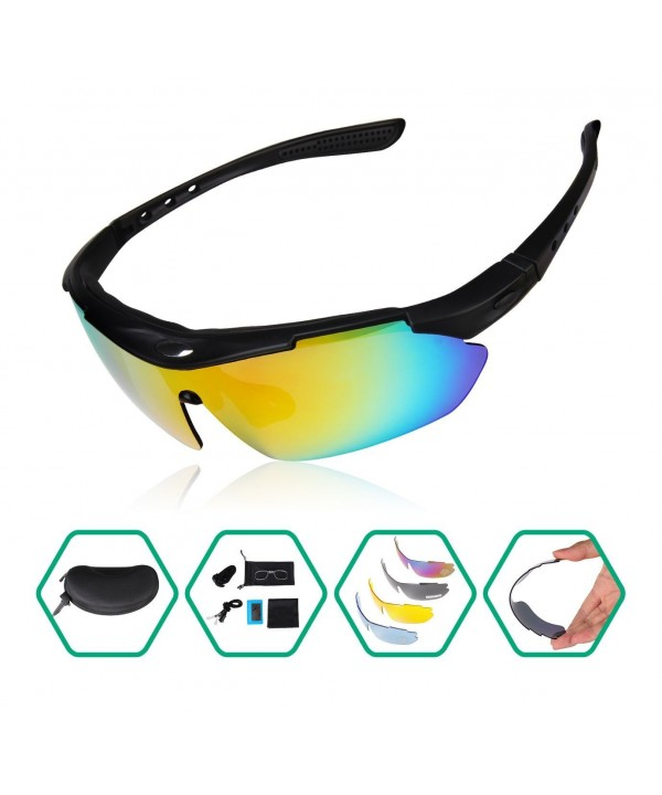Sunglasses Lightweight Unbreakable UV Resistant Interchangeable