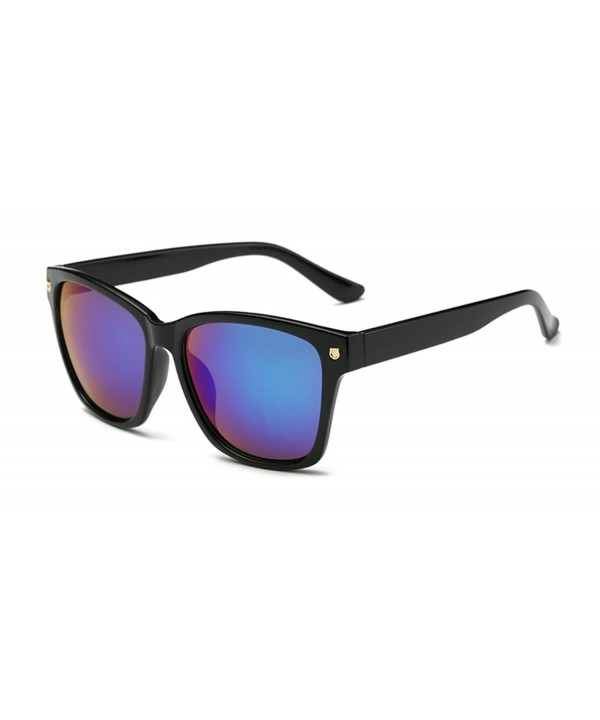 Wayfarer Sunglasses Square Plastic Reflective