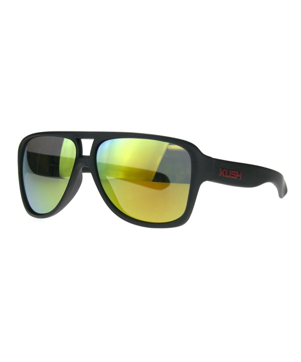 SA106 Plastic Aviator Mirror Sunglasses