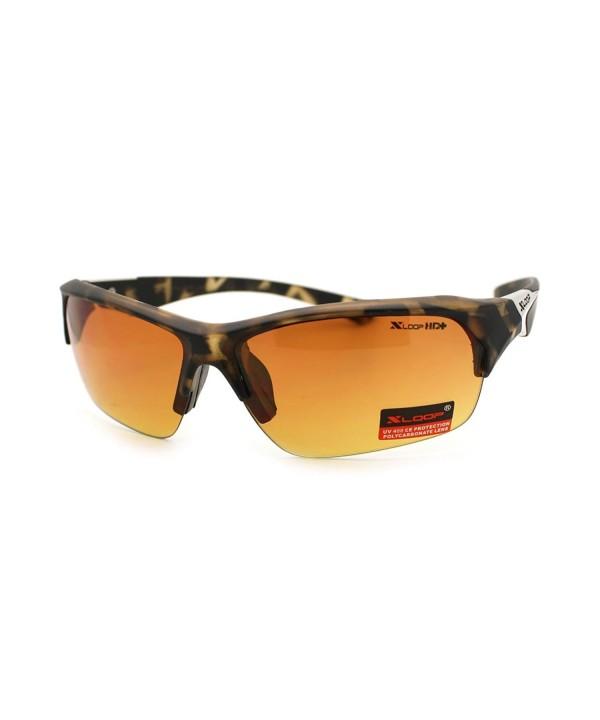 X loop Baseball Definition Sunglasses Tortoise