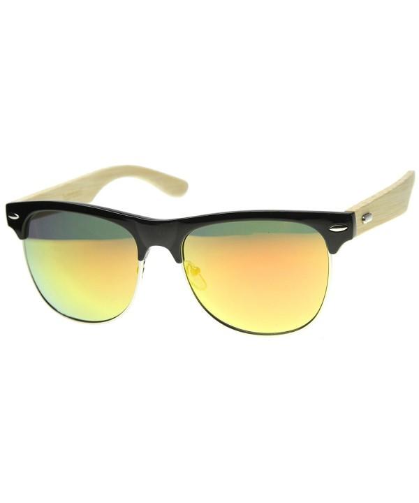 zeroUV Classic Rimless Temples Sunglasses