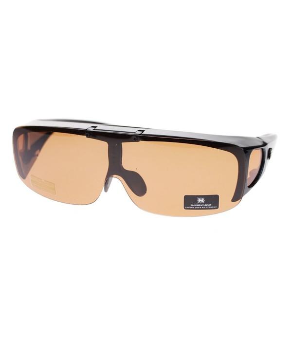 Baracade Polarized Sunglasses Black Brown