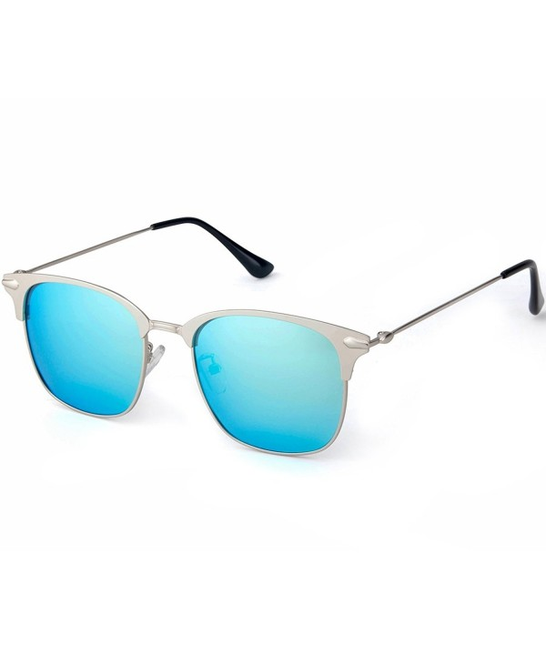 MT MIT Polarized Sunglasses Silver_Blue