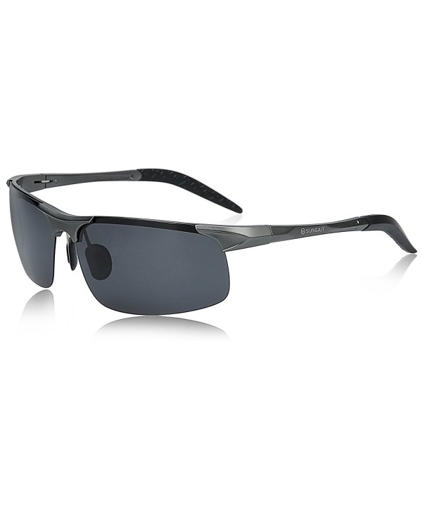 SUNGAIT Polarized Sunglasses Driving Gunmetal