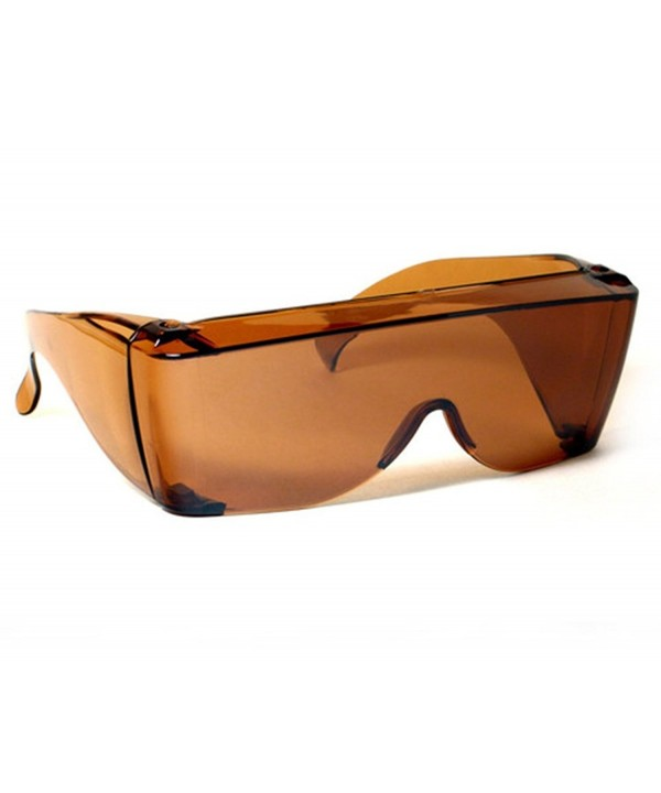 Shield Sunglasses Copper Prescription Glasses