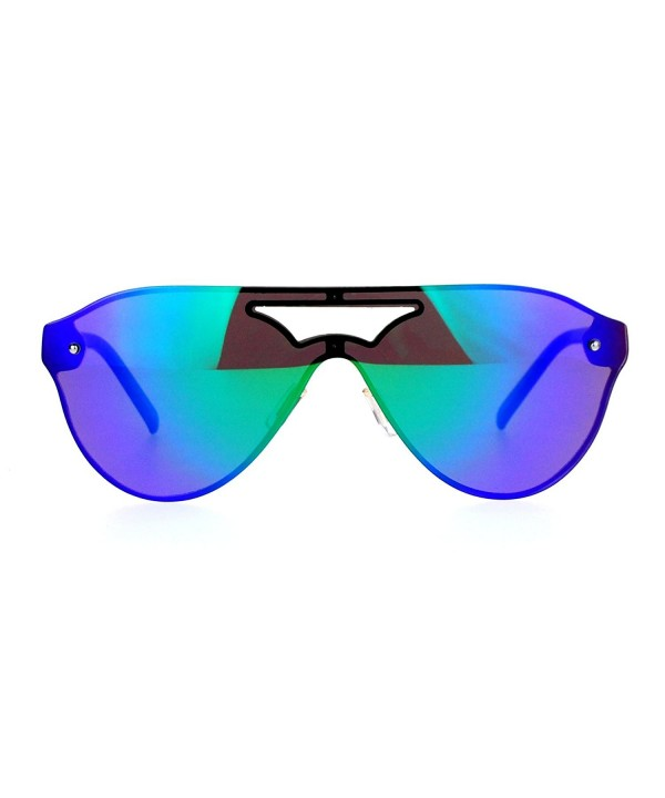 SA106 Futuristic Robotic mirrored Sunglasses