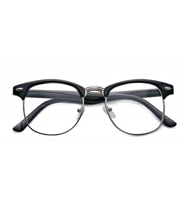 Kelens Classic Horned Clubmaster Glasses