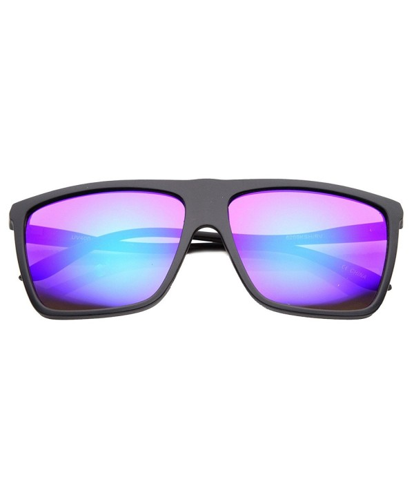 KUSH Mirror Plastic Sunglasses Midnight