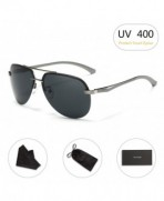 Aviator Sunglasses RAYSUN Aluminum Polarized