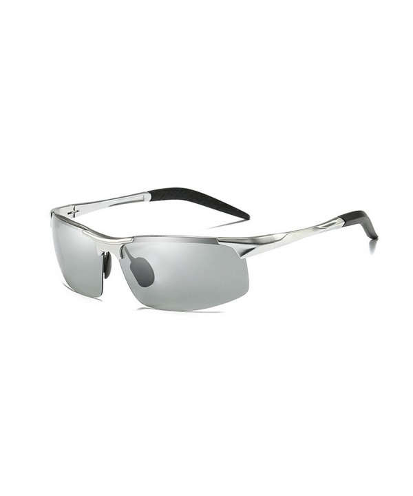 Polarized Photochromic Sunglasses Photosensitive silver photochromatic