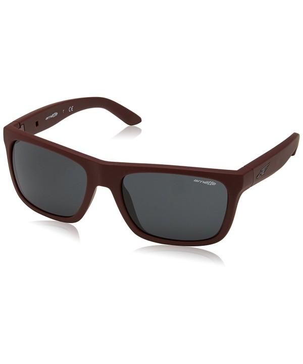 Arnette Dropout Unisex Sunglasses Burgundy