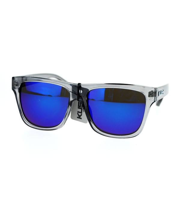 Kush Translucent mirrored Hipster Sunglasses