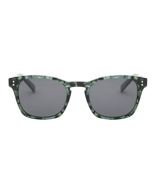 TIJN Keyhole Acetate Polarized Sunglasses