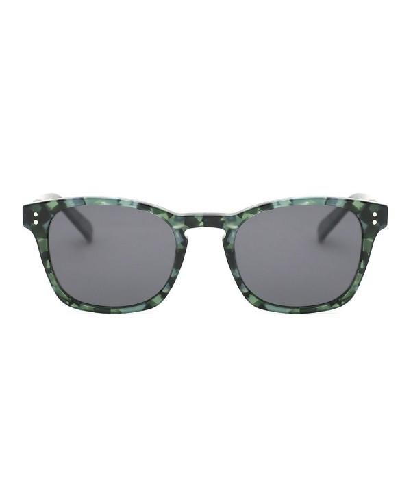 TIJN Keyhole Acetate Polarized Sunglasses