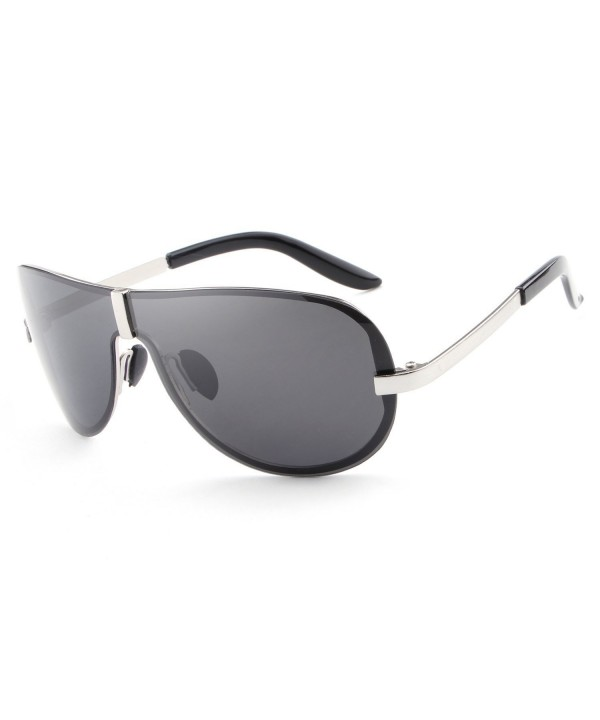 HDCRAFTER Oversized Polarized Sunglasses Anti Reflective
