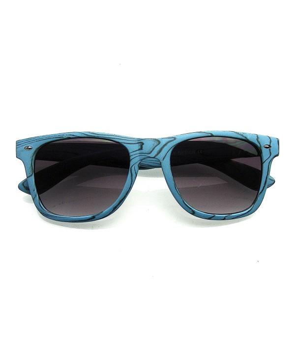 Unique Fashion Wood Horned Sunglasses