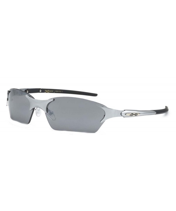 SUNGLASSES Rimless Stylish Cycling Silver