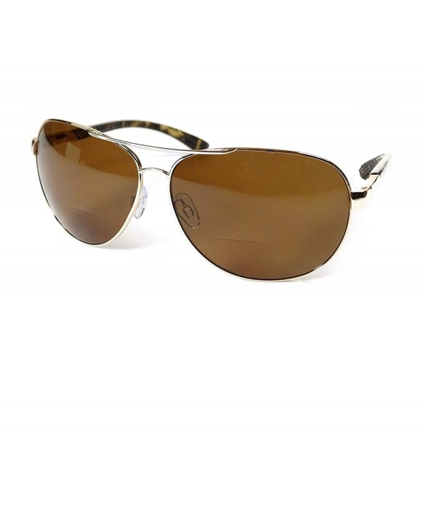 Aviator Polarized Bifocal Sunglasses Available