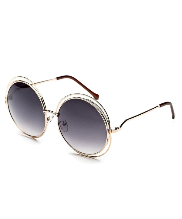 CHB double circle oversized sunglasses