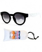 WM3039 VP Style Vault Sunglasses White Smoked